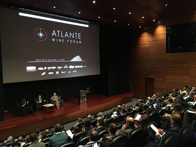 Tertulia en Atlante Wine Forum